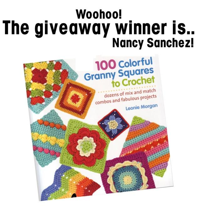 crochet giveaway win